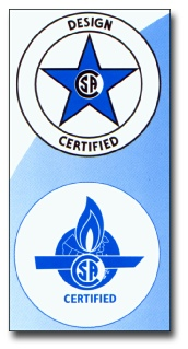 Certified by CSA International, an OSHA Nationally Recognized Testing Laboratory