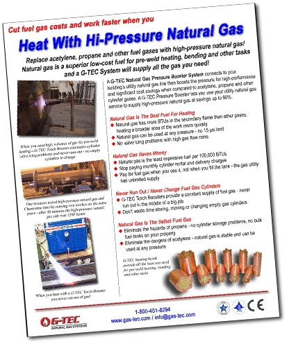 Brochure - heat with high pressure natural gas