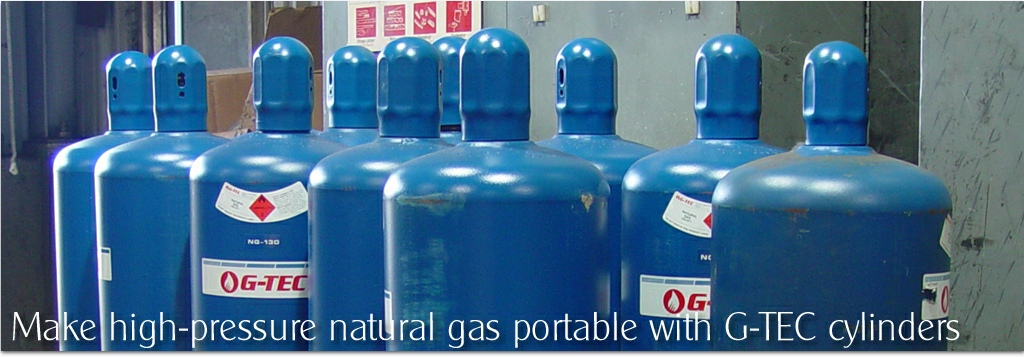 G-TEC Adsorbed Natural Gas Cylinders